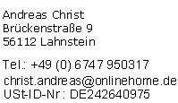 Impressum der Sitzlift Anbieterempfehlung Treppen-Lifte.org
